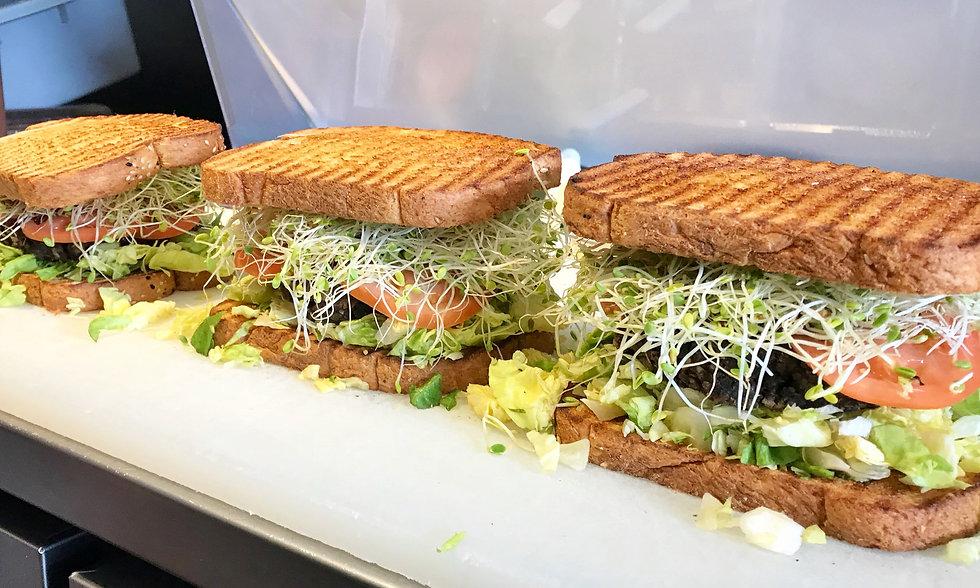 sproutwich sandwich on multigrain bread