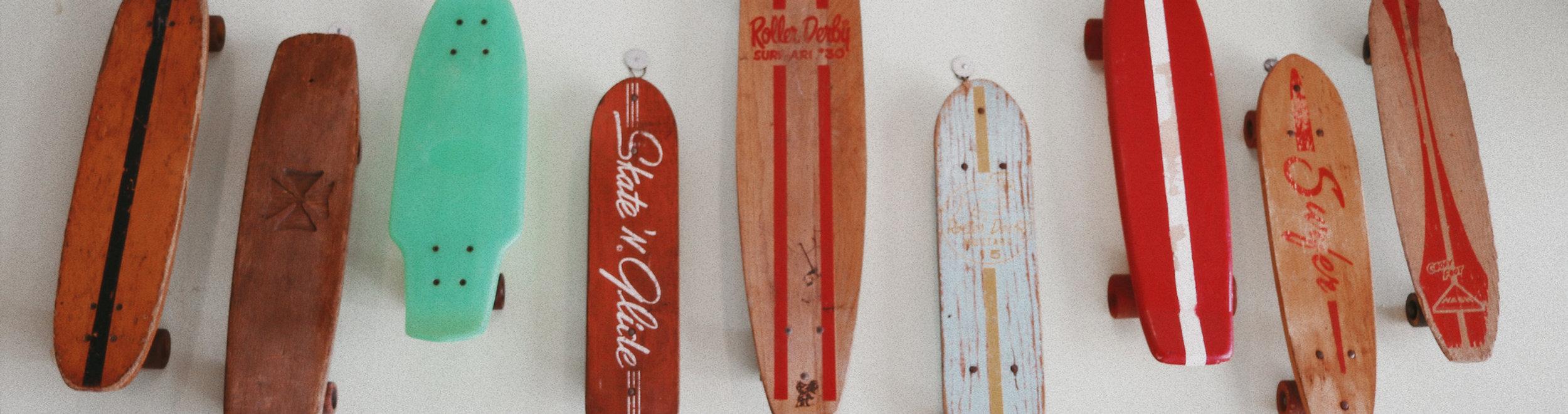 vintage skateboards