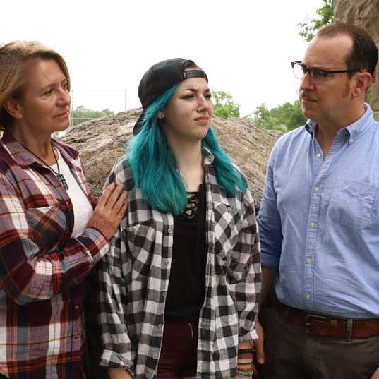 Lori Cannon, Sofia Friend, and Jon Osbeck