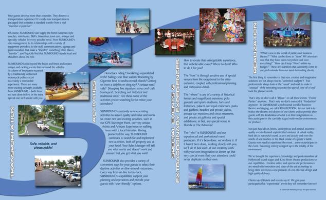 Sunbound company brochure