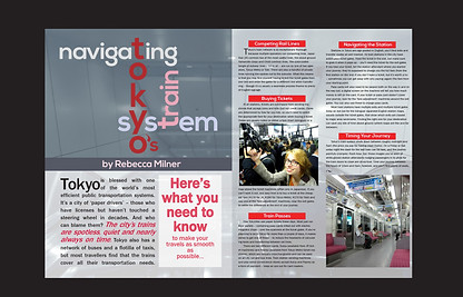 Navigating Tokyo's Train System