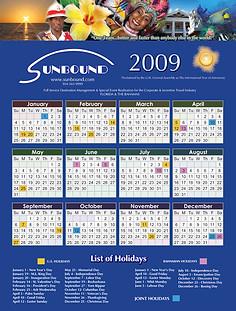 Annual Company Calendar