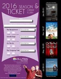 Online Ticket Order Form