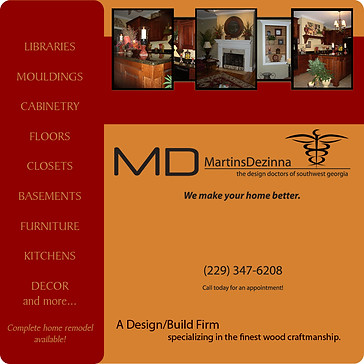 MD Design Website