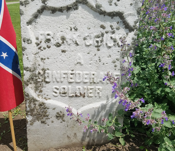Headstone of Frank Chick (Confederate Soldier)