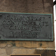 Camp Chase Confederate Cemetery Sign