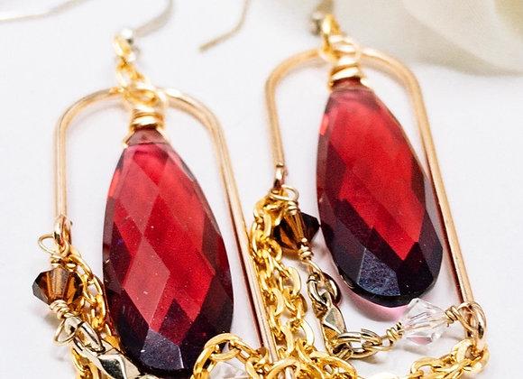 Francine-Handmade Earrings
