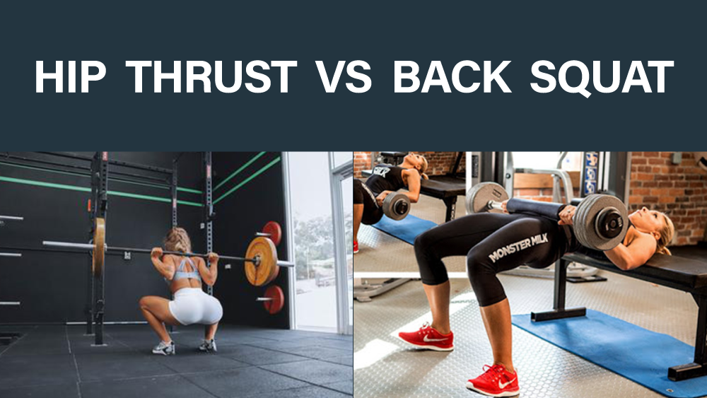 Copertina Hip Thrust vs Back Squat