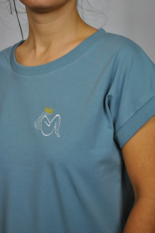 """T-shirt """"princesse aux petits poils"""""""