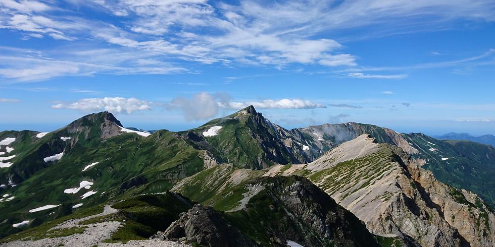 「夏!涼を求めて♪高山へ」~②後立山連峰・白馬岳