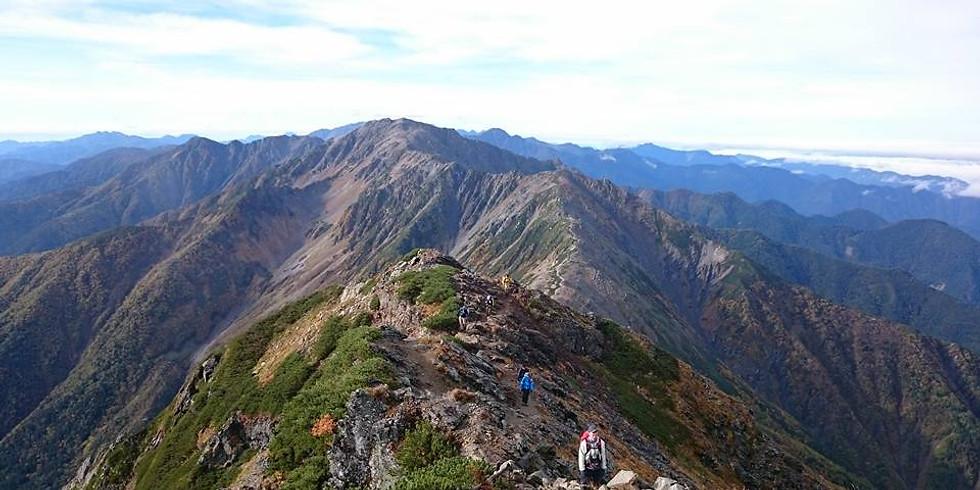 秋と冬の狭間… 日本第二の高峰・北岳を目指す!