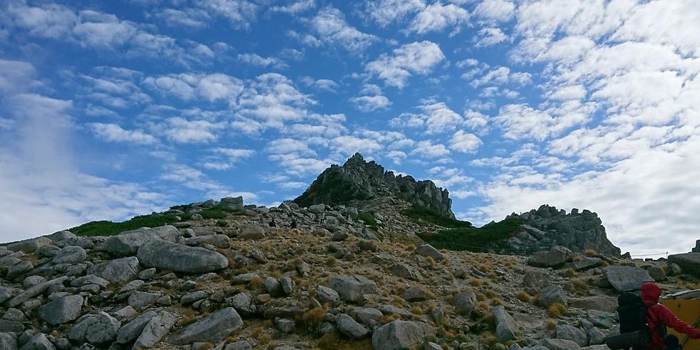 【山小屋泊もOK】稜線テント泊に挑戦!!(@木曽駒ケ岳)