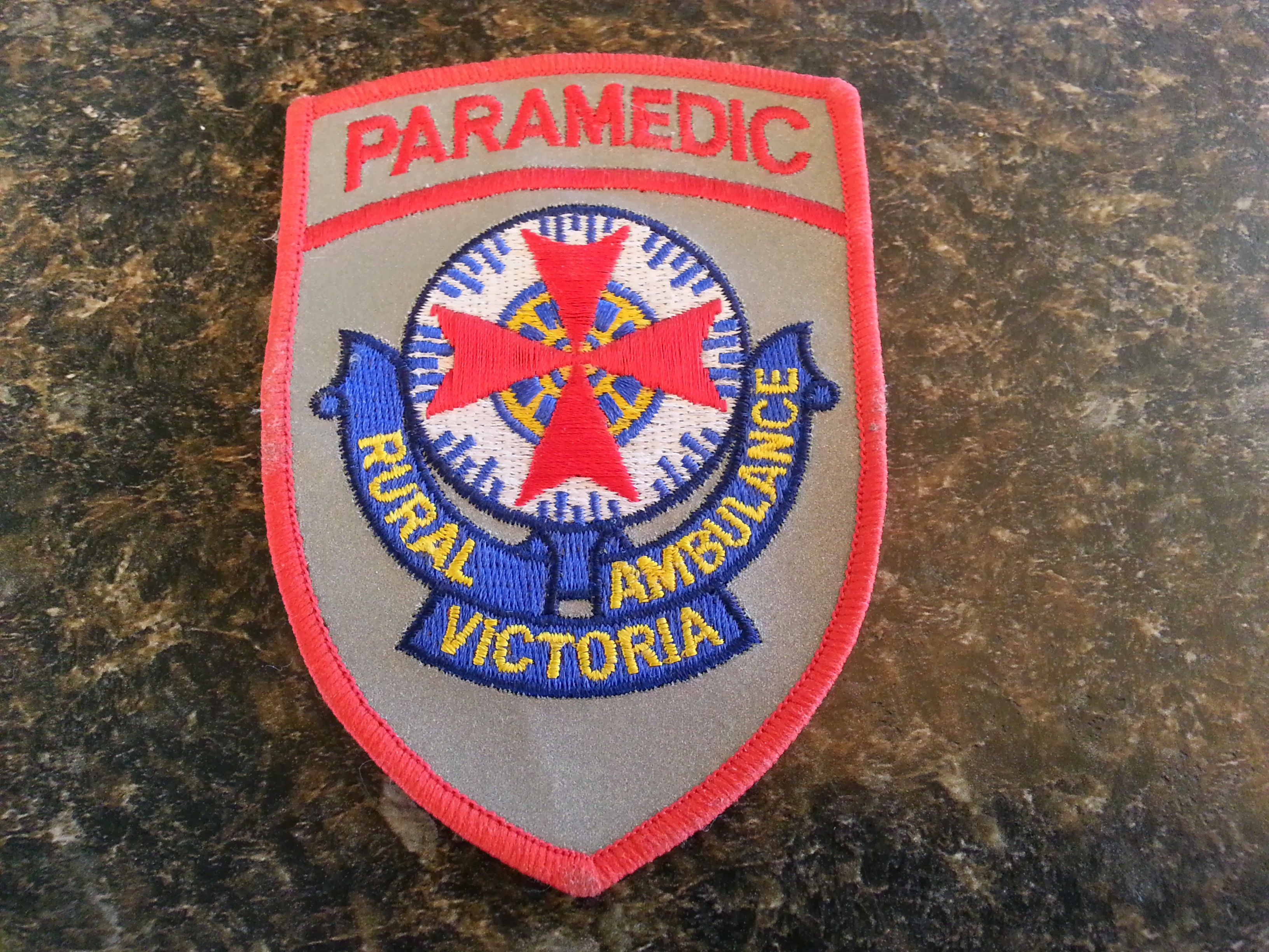 Paramedics badge