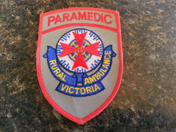 Paramedics badge