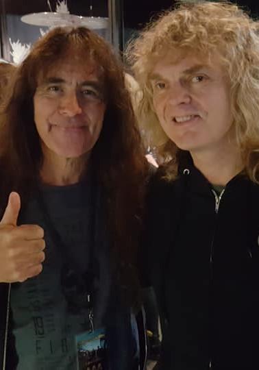 Steve Harris & Carl Dixon