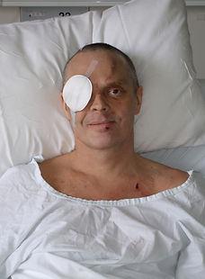Carl Dixon post coma 2008