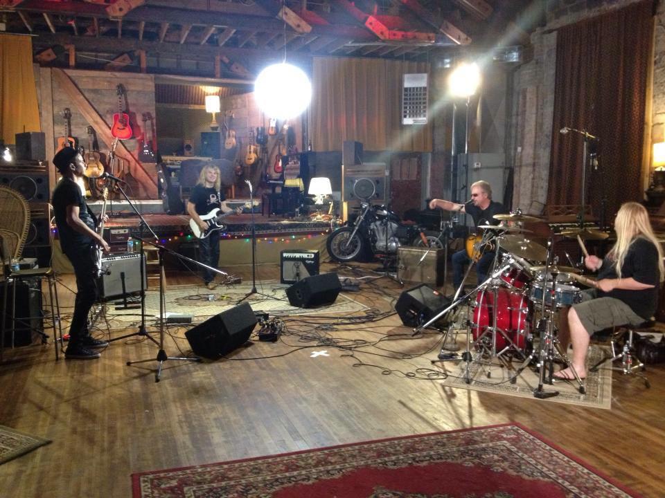 Coney Hatch - recording Blown Away