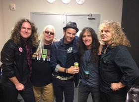 Sean, Dave, Andy, Steve Harris, Carl
