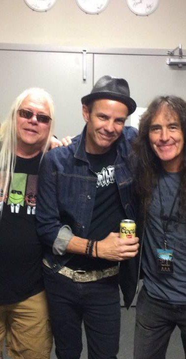Coney with Steve Harris