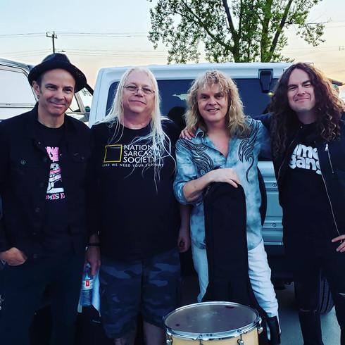 Andy, Dave, Carl and Sean