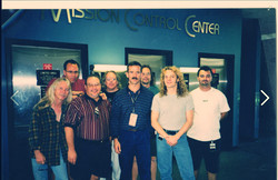 With Cmdr HADFIELD at NASA