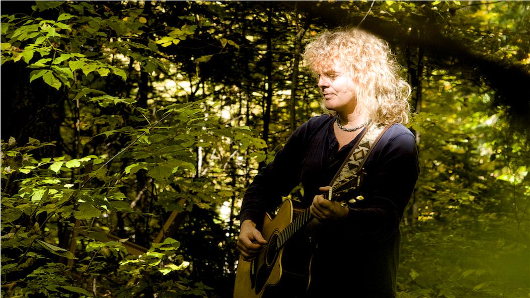 Carl in autumn woods