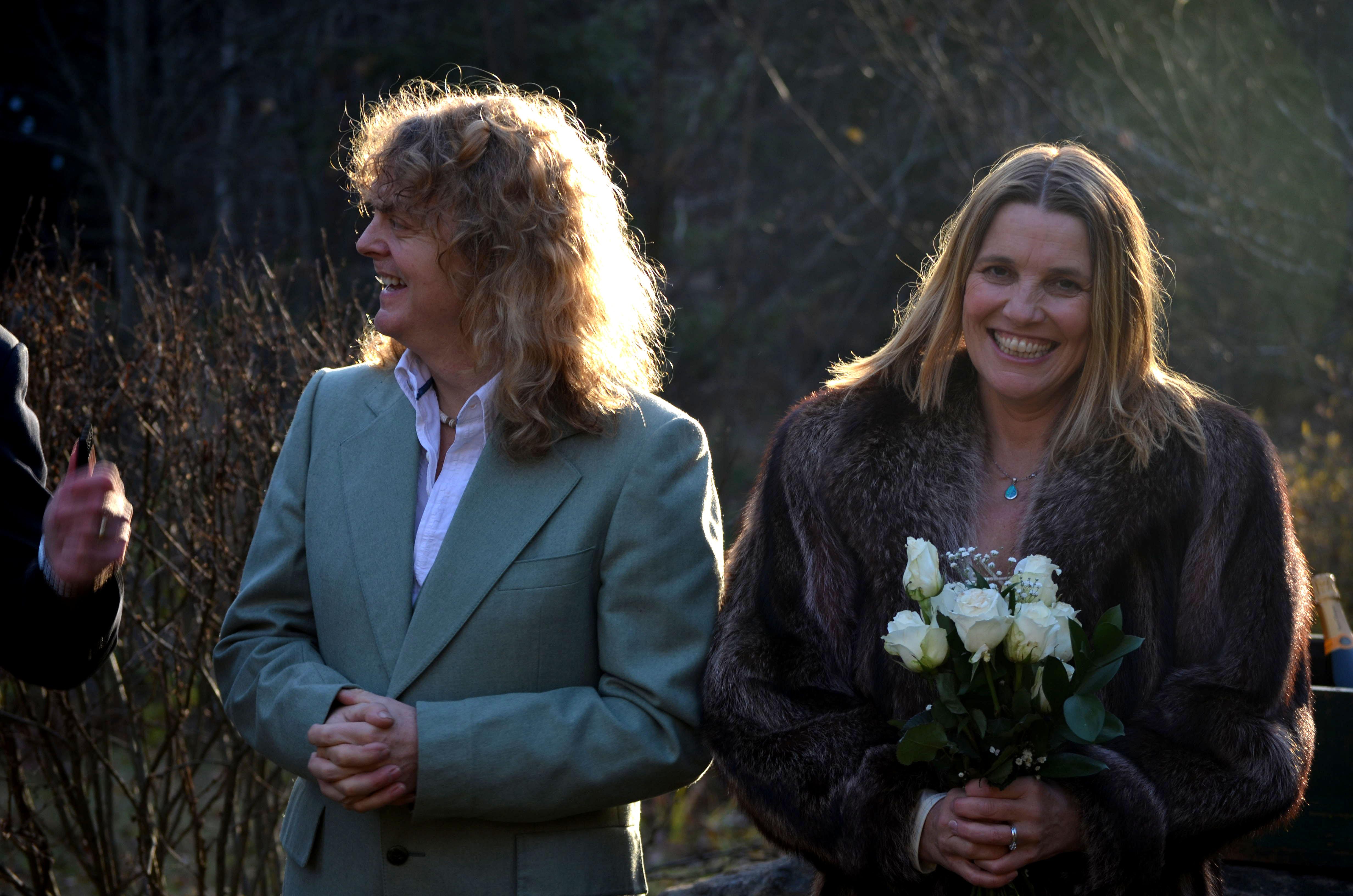 Carl Dixon and wife Helen