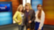 Host Jenn Valentyne with Carl & Melissa from BIST Dixon