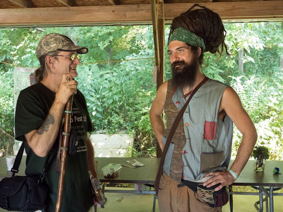 Dan deLion and KC