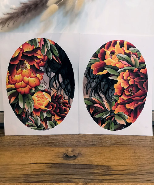 Tutti Print : Duo Ombre d'Automne