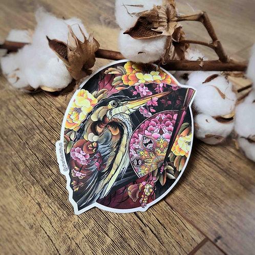Tutti Stickers - Héron