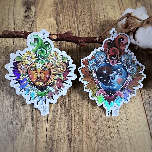 Tutti Stickers - Lune et Soleil Sacrés