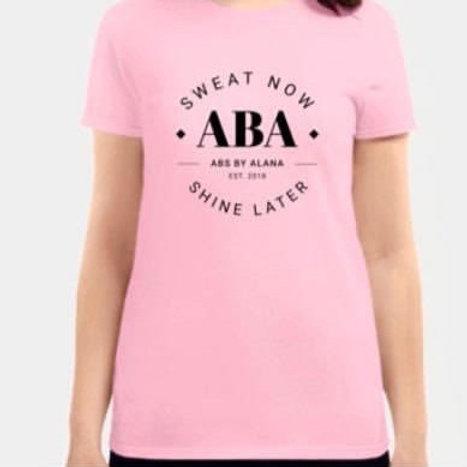 Pink ABA T-shirt