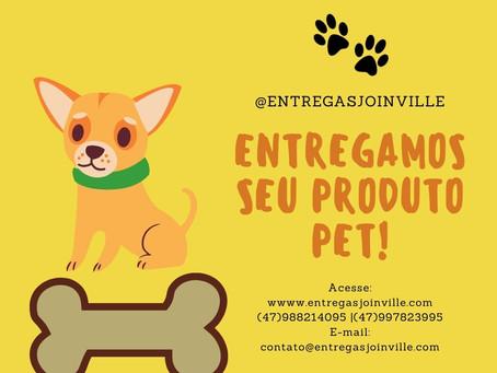 Entregas de Produtos Pet!