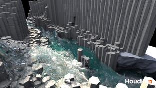Basalt Waterfall | Work in Progress