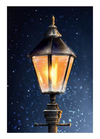 Lamp Light Animation Concept Art