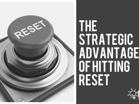 The Strategic Advantage of Hitting Reset