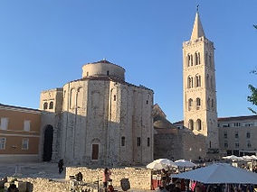 Saint Donatus church in Zadar, Croatia