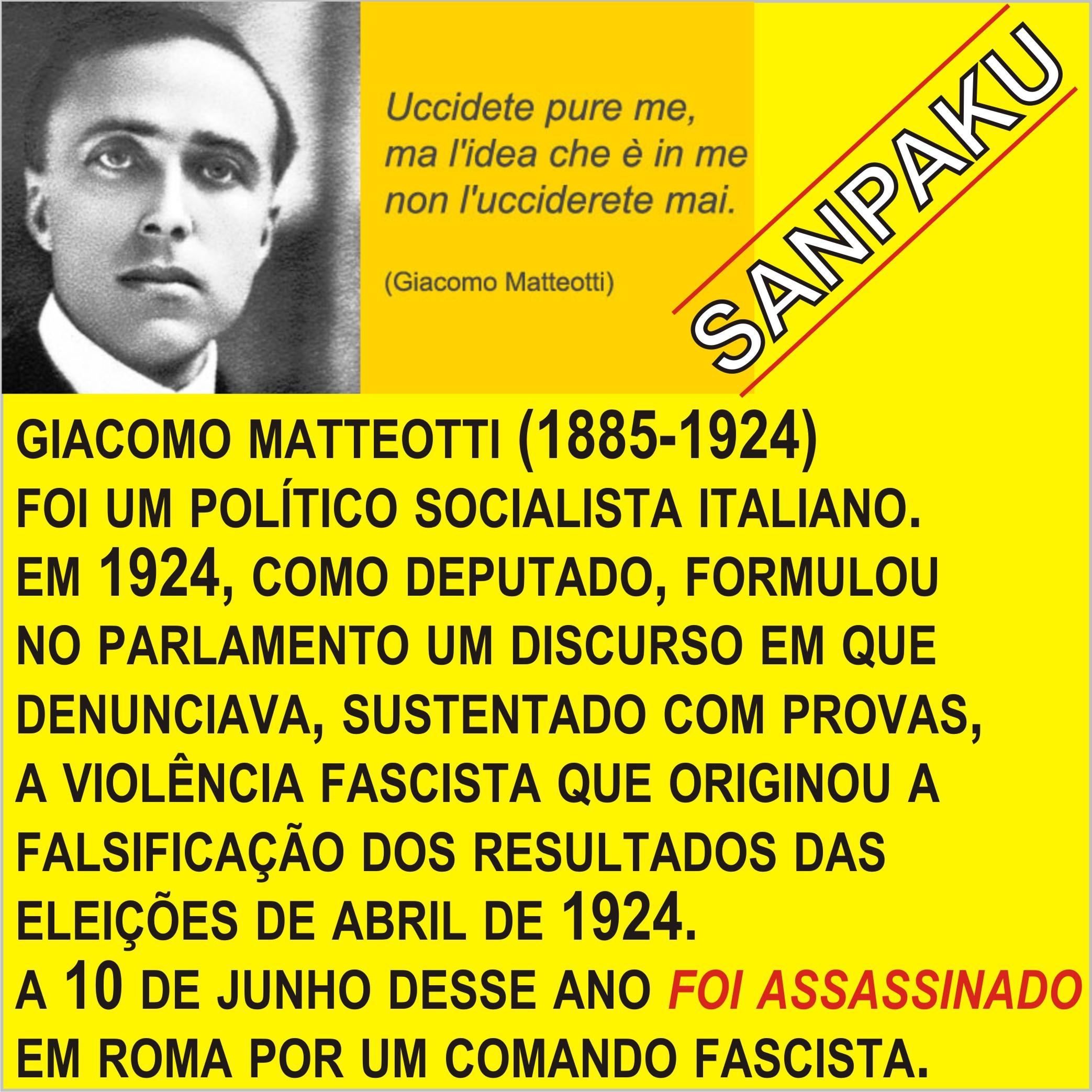 POST 397 GIACOMO MATTEOTTI
