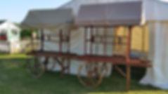 Wooden Carts | Dallas Event Services