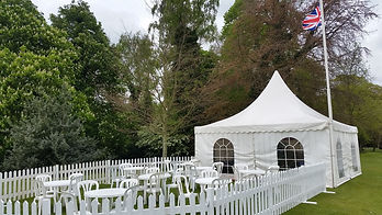 6m x 6m Oriental Marquee | Dallas Event Services