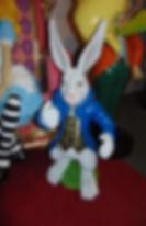 Alice In Wonderland White Rabbit | Dallas Event Services