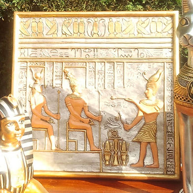 EGYPTIAN COUPLE WALL DECOR | Dallas Event Services