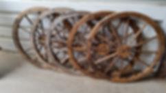Wooden Wheels | Dallas Event Services