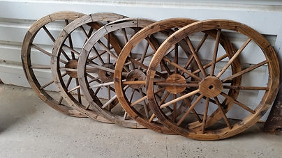 Wooden Wheels | Dallas Event Services