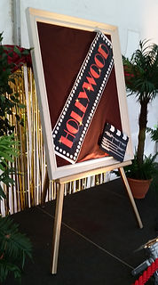 Easel Prop | Dallas Event Services
