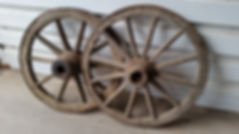 wooden Oak Wheels | Dallas Event Services