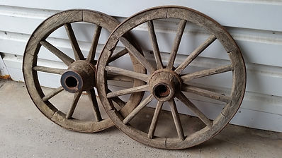 wooden Oak Wheels | Dallas Event Services