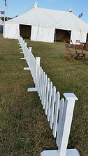 2ft White Picket Fencing | Dallas Event Services