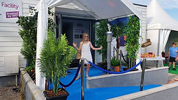 Blue Carpet Entrance | Dallas Event Services